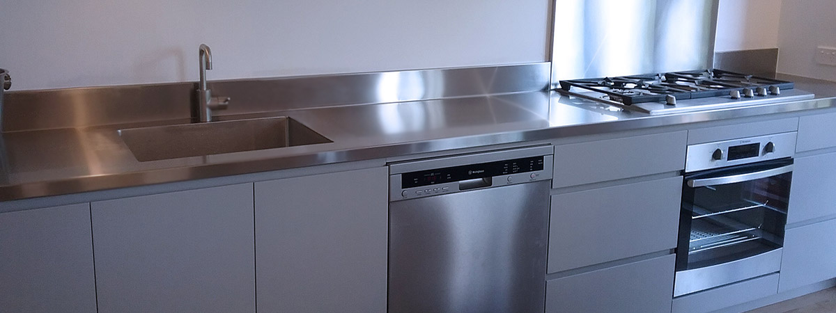 Stainless Steel Domestic Kitchens